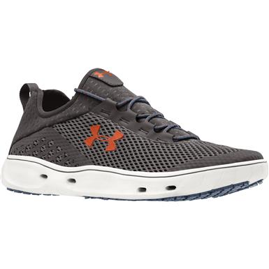 Under Armour Men's Kilchis Water Shoes, Maverick Brown/Mechanic Blue/Toxic