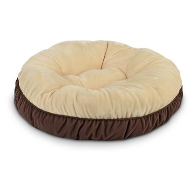 Filled with 100% polyester fiber for maximum comfort, Brown