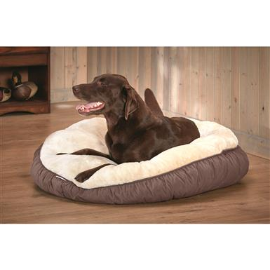Guide Gear Bismark Dog Bed, Brown