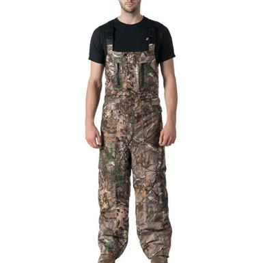 10X Men's WPB Extreme Insulated Bibs, Realtree Xtra