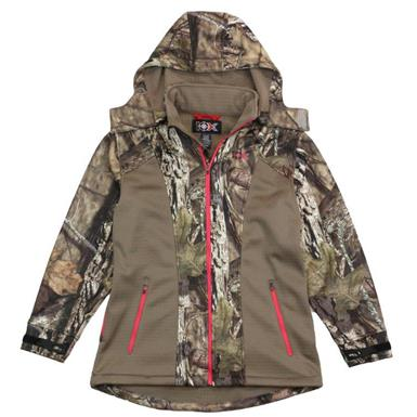 10X Women's Camo Softshell Jacket, Realtree Xtra