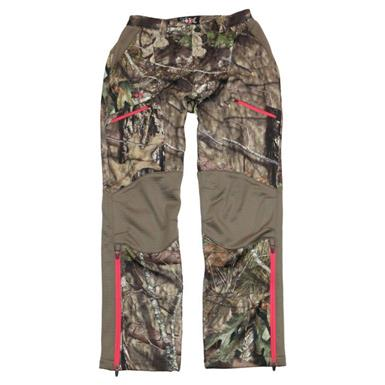 10X Women's Softshell Pants, Realtree Xtra