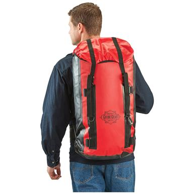 Guide Gear Waterproof Dry Bag Backpack, Red