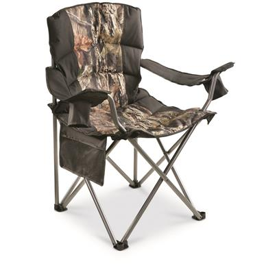 Guide Gear Mossy Oak Break-Up COUNTRY Oversized King Chair, 500-lb.Capacity