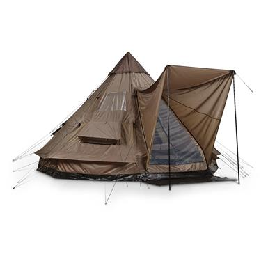 Guide Gear Elite Teepee Tent, 12' x 12'