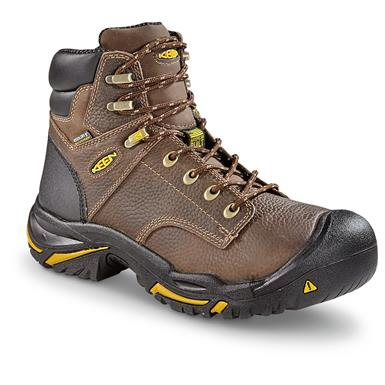"KEEN Utility Men's Mt. Vernon Waterproof 6"" Soft Toe Boots"