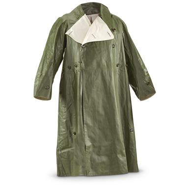 French Military Surplus Reversible Rain Poncho, New