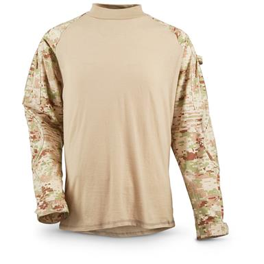 HQ ISSUE Combat Shirt, Saudi Guard Camo