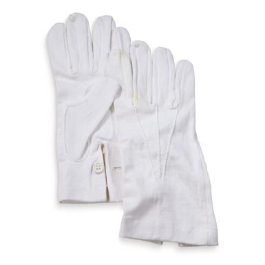 Italian Military Surplus Dress Gloves, 6 Pack, New