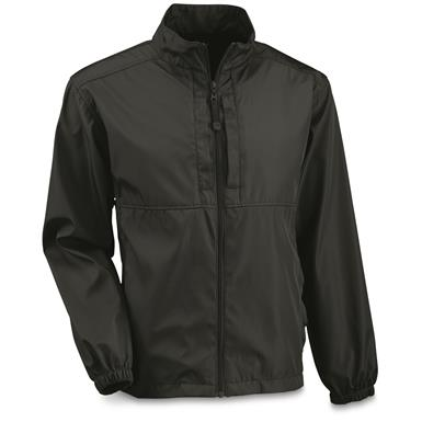 Mil-Tec Military Style Wet Weather Jacket, Black