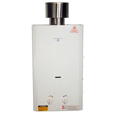 Eccotemp L10 Tankless Water Heater with Flojet Water Pump and Strainer