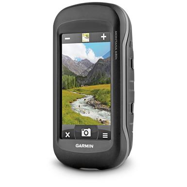 Garmin Montana 680t Handheld GPS With Pre-loaded TOPO Maps