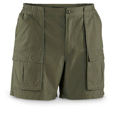 "Guide Gear Men's Wakota Shorts, 6"" Inseam, Olive"