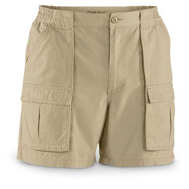 "Guide Gear Men's Wakota Shorts, 6"" Inseam, Khaki"