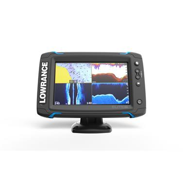 Lowrance Elite-7 Ti Touchscreen Fish Finder, Mid / High / DownScan Transducer