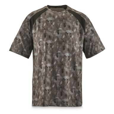 Back Fish Camo pattern is ideal for overcast days, Black Fish Camo