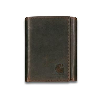 Carhartt Oil Tan Leather Wallet, Tri-Fold