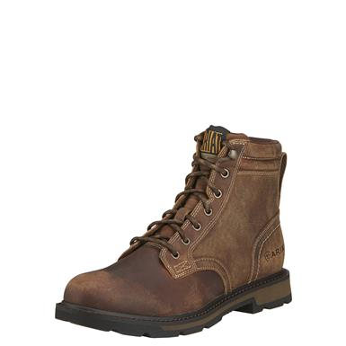 "Ariat 6"" Groundbreaker Work Boots, Brown"