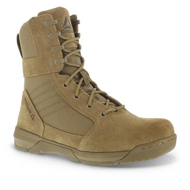 "Reebok Men's 8"" Strikepoint Duty Boots, Coyote Brown"