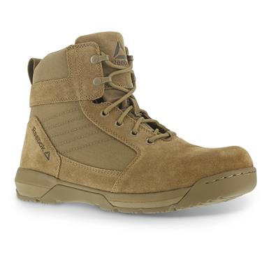 "Reebok Men's Strikepoint 6"" Duty Boots, Coyote Brown"