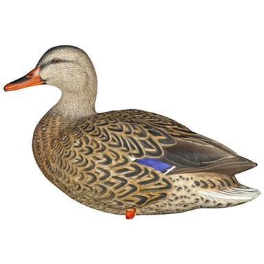 Ultra-realistic paint scheme lets your decoys been seen from a distance