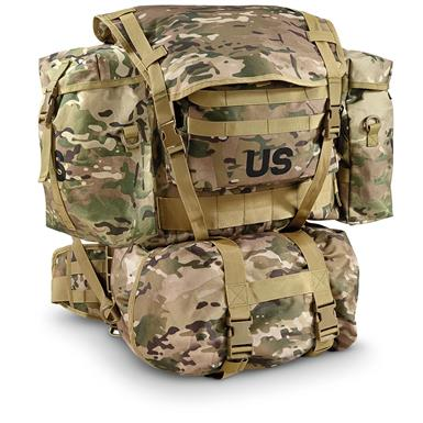 U.S. Military Surplus Pack With Frame, New