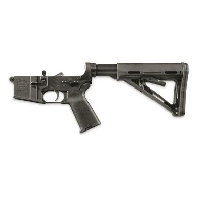 Anderson Complete Assembled Lower, Multi-Caliber, Magpul Stock and Grip