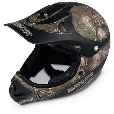 Raider Ambush MX Helmet, Realtree Xtra
