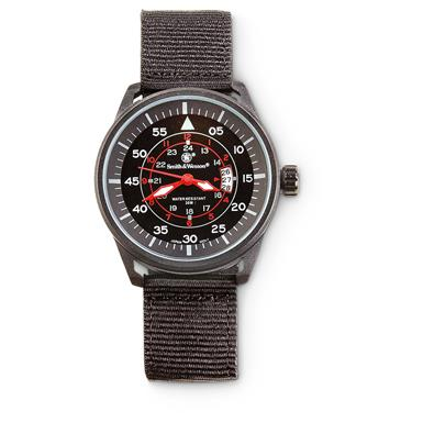 Smith & Wesson Men's Field II Analog Watch