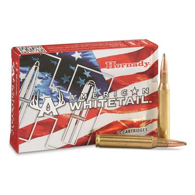 Hornady, American Whitetail, .270 Winchester, Interlock SP, 140 Grain, 20 Rounds