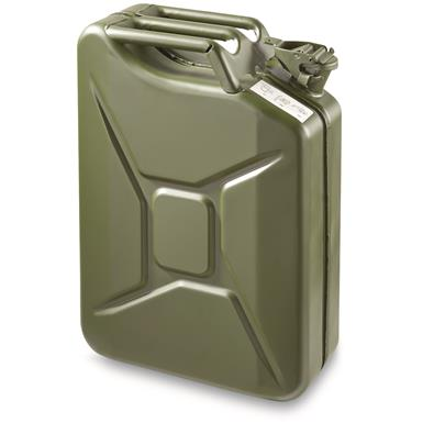 NATO Military Surplus Jerry Can, 20 Liter, New