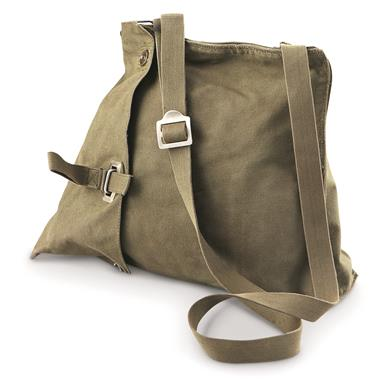 Swedish Military Surplus Gas Mask Shoulder Bags, 3 Pack, Used