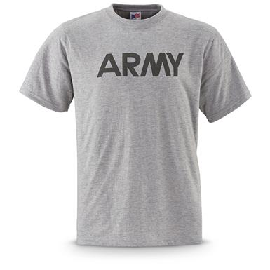 U.S. Army Military Surplus Men's Wicking T-Shirts, 2 Pack, New