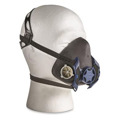 U.S. Military Surplus Half Mask Respirator, New