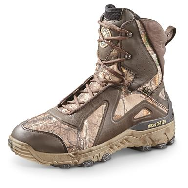 "Irish Setter Men's 9"" VaprTrek LS Waterproof Insulated Hunting Boots, 1,200 Gram, Brown/Realtree Xtra¿¿"