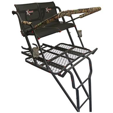 X-Stand Talon 22' Ladder Tree Stand, 2-Person