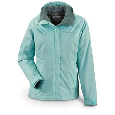 Columbia Women's Outer West Interchange Jacket, Spray Circuit