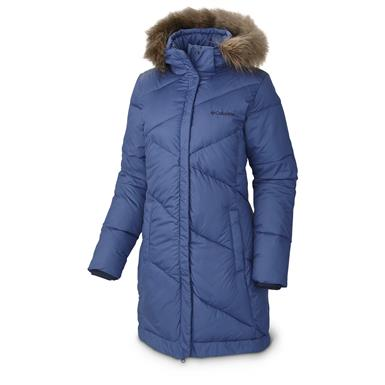 Columbia Women's Snow Eclipse Mid Jacket, Bluebell