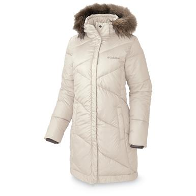 Columbia Women's Snow Eclipse Mid Jacket, Chalk