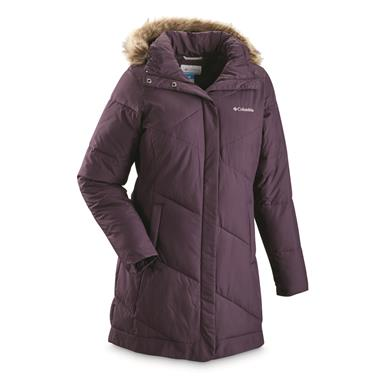 Columbia Women's Snow Eclipse Mid Jacket, Dark Plum