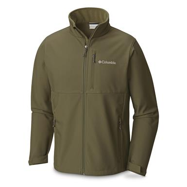 Columbia Men's Ascender Softshell Jacket, Surplus Green