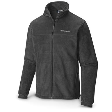 Columbia Men's Steens Mountain Full Zip 2.0 Fleece Jacket, Black