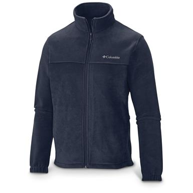 Columbia Men's Steens Mountain Full Zip 2.0 Fleece Jacket, College Navy