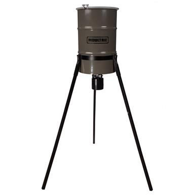 Moultrie Pro Hunter Tripod Deer Feeder, 30 Gallon