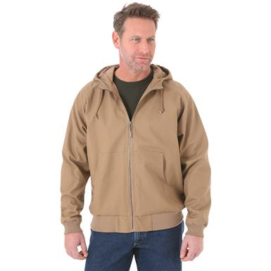 Wrangler RIGGS Workwear Men's Jacket, Water resistant, Rawhide