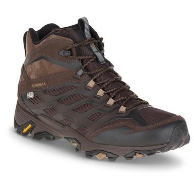 Merrell Men's Moab FST Ice+Thermo Hiking Boots, Espresso