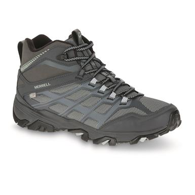 Merrell Men's Moab FST Ice+Thermo Hiking Boots, Granite