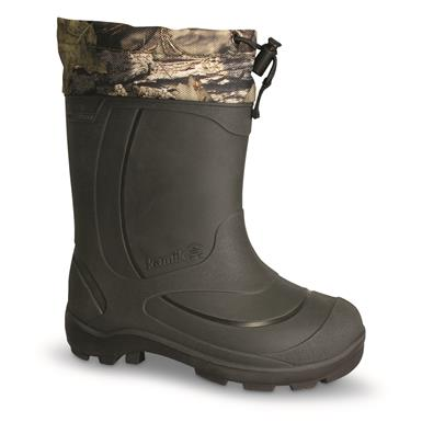 Kamik Kids' Snobuster2 Insulated Winter Boots, Mossy Oak Break-Up Country, Mossy Oak Break-Up® COUNTRY™