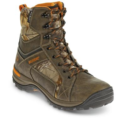 "Wolverine Men's Sightline Insulated Waterproof 7""  Hunting Boots, Natural / Realtree Xtra"