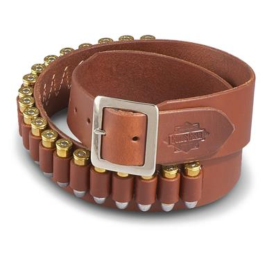 Guide Gear Leather Cartridge Belt, .44/.45 Caliber